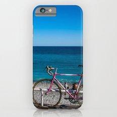 Beach and the bike - Nice, France summer iPhone 6s Slim Case