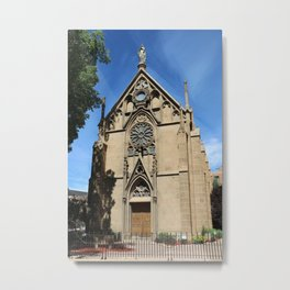 Cathedral Basilica of St. Francis of Assisi Santa Fe Metal Print