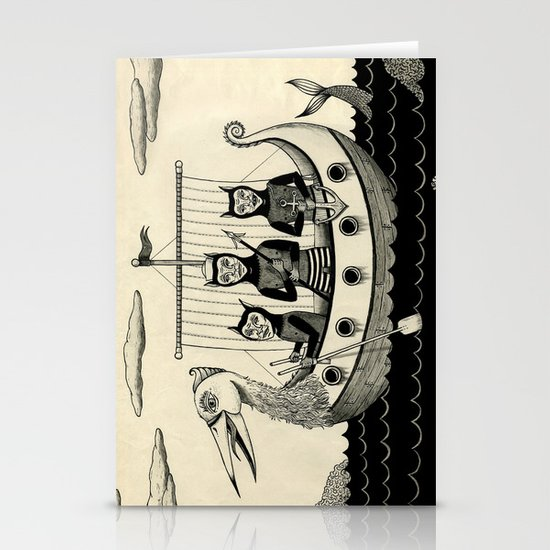 The Harpooners  Stationery Cards