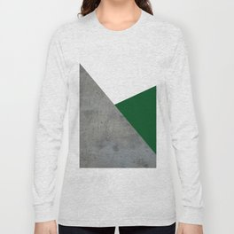 Concrete Festive Green White Long Sleeve T-shirt