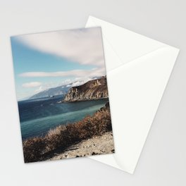 Aqua Coast Stationery Cards