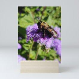 Lounging Bee Mini Art Print