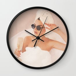 Friday Evening Wall Clock