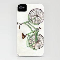 Bicycle / Green Cruiser Slim Case iPhone (4, 4s)