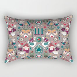 Hygge Home Happy Home Rectangular Pillow