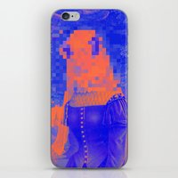 furry iPhone & iPod Skins featuring Furry Streets by Tyler Spangler