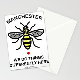 Manchester Bee Stationery Cards