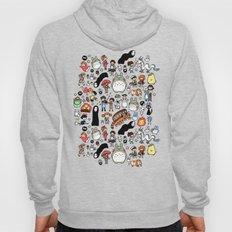Kawaii Ghibli Doodle Hoody
