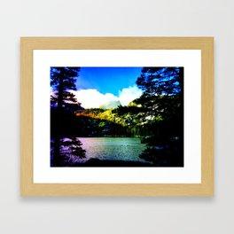 Bear Lake Morning Framed Art Print