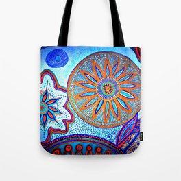 Energy of Orbs Tote Bag