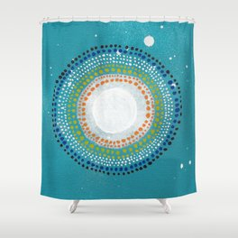 Dotto 8 Shower Curtain