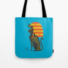 Mike - the Most Famous Cat in London Tote Bag