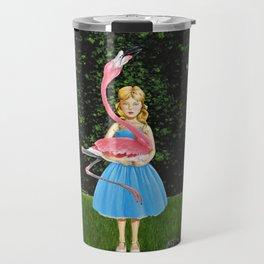 """Aloof Alice"" Travel Mug"