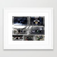 f1 Framed Art Prints featuring F1 Collection by ouroboros888