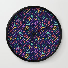 MEMPHIS IV Wall Clock