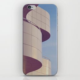 Structured Waves iPhone Skin
