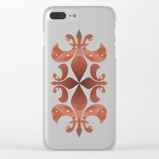 Space Mandala no9 Clear iPhone Case