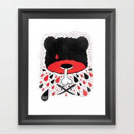 SALVAJEANIMAL headless Framed Art Print