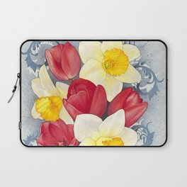 Spring Flowers Watercolour Laptop Sleeve
