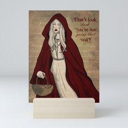 Red Riding Hood Mini Art Print