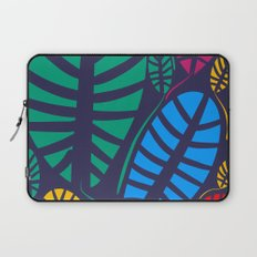 Jungle Night Pattern Floral Decoration Laptop Sleeve