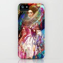 Galaxy Queen iPhone Case