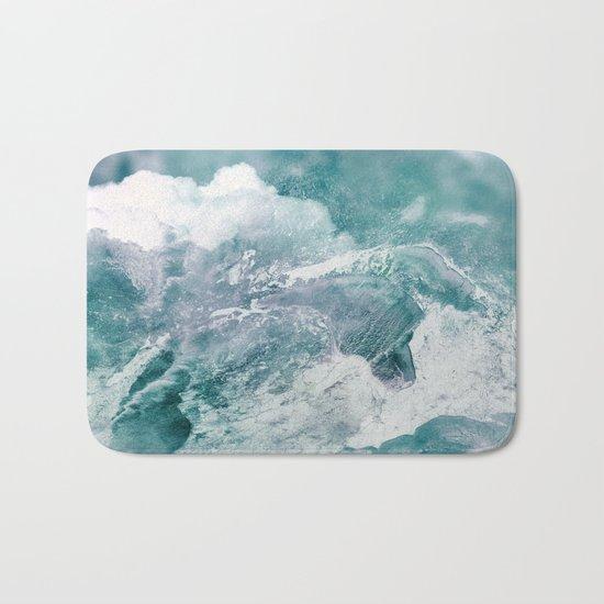 Abstract Landscape Bath Mat