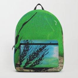 Landscape in Mixed Media Backpack