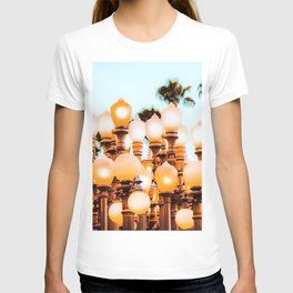 Urban Lights at LACMA art museum, Los Angeles, California, USA T-shirt