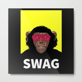 King Kong Swag Metal Print
