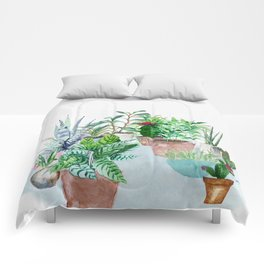 Plants 2 Comforters