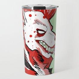 smokin' - red Travel Mug