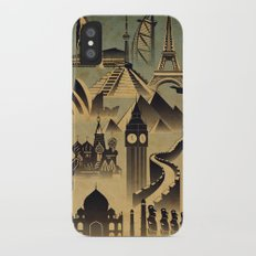 Around the world iPhone X Slim Case