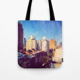 Morning in NYC Tote Bag