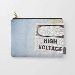 blue voltage Carry-All Pouch