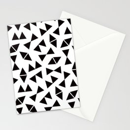Geo Triangle Symbols Stationery Cards
