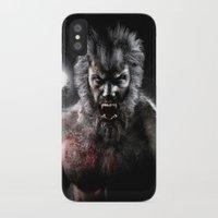 werewolf iPhone & iPod Cases featuring Werewolf by Joe Roberts