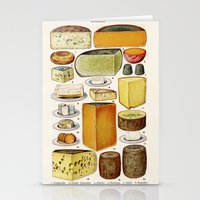 cheese Stationery Cards featuring CHEESE by Kathead Tarot/David Rivera