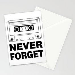 Never Forget Art Stationery Cards