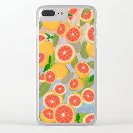 Grapefruit Song Clear iPhone Case