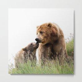 Bears Love Metal Print
