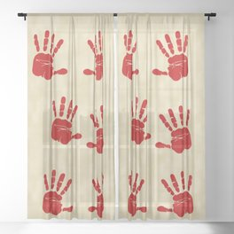 Catching Spirit Native American Sheer Curtain