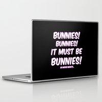 bunnies Laptop & iPad Skins featuring Bunnies by Nana Leonti