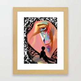 Man of Color Framed Art Print