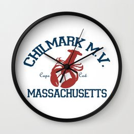ChilMark, Martha's Vineyard. Cape Cod Wall Clock