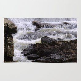 Lowell Tannery Hydro Dam Spring Rush Rug