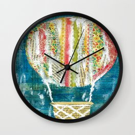 Find Your Wings Wall Clock