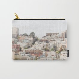 Top of a San Francisco Hill - San Francisco Photography Carry-All Pouch