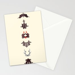 rosrach test Stationery Cards