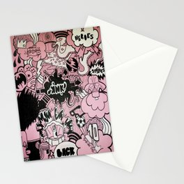 Heroes Strikes Back Stationery Cards